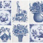 Handdoeken Delfts Blauw