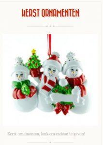 kerst-ornamenten
