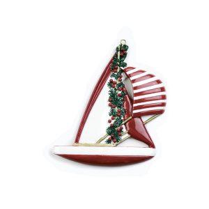 Ornament Zeilboot