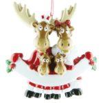 Ornament Rendier familie 4