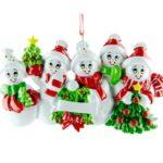 Ornament Sneeuw familie 5