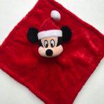 Knuffeldoekje Disney Mickey Mouse Kerst