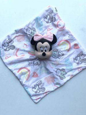 Knuffeldoekje kleur Disney Minnie Mouse